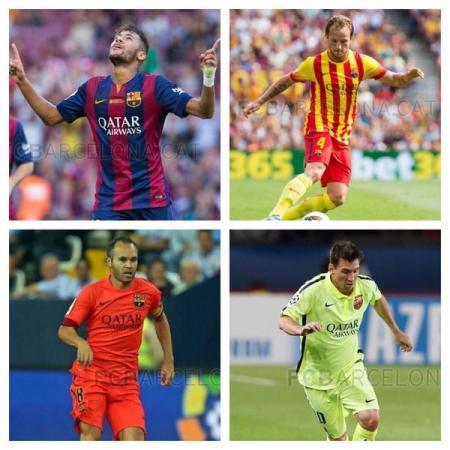 FC Barcelona, koszulki
