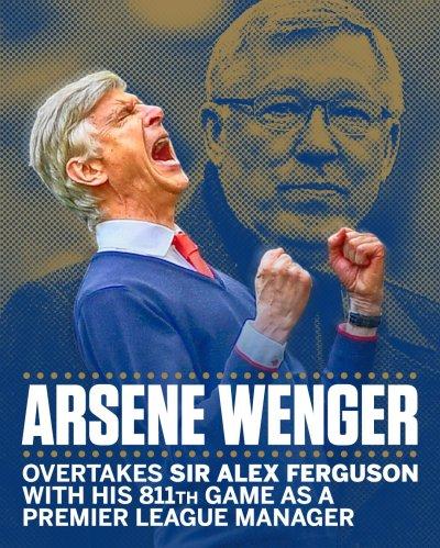 Arsene Wenger. Alex Ferguson
