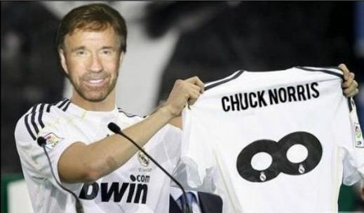 Chuck Norris, Real Madryt