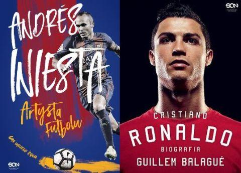 Andres Iniesta, biografia, Cristiano Ronaldo, książka
