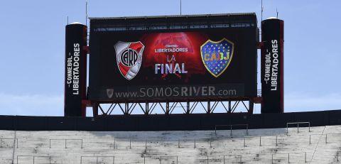 River Plate - Boca Juniors, Superclasico, Copa Libertadores. Fot. Gustavo Garello (AP)