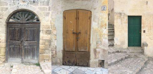 Matera, Basilicata. Wybierz właściwe drzwi i podążaj za błękitnym królikiem