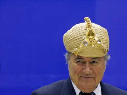 Sepp Blatter. Fot. B. Mathur, Reuters